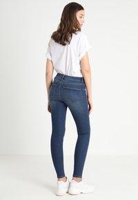 Vila - VICOMMIT FELICIA  - Slim fit jeans - dark blue denim - 3