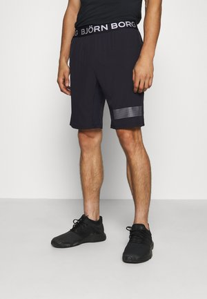 MEDAL SHORTS - Sports shorts - black/silver