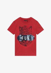 IKKS - TEE - T-shirt imprimé - rouge moyen - 2