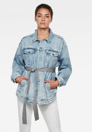 3301 REAL BOYFRIEND - Denim jacket - sun faded arctic