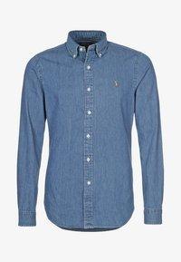 Polo Ralph Lauren - SLIM FIT - Shirt - dark wash - 3