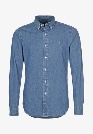 SLIM FIT - Camisa - dark wash