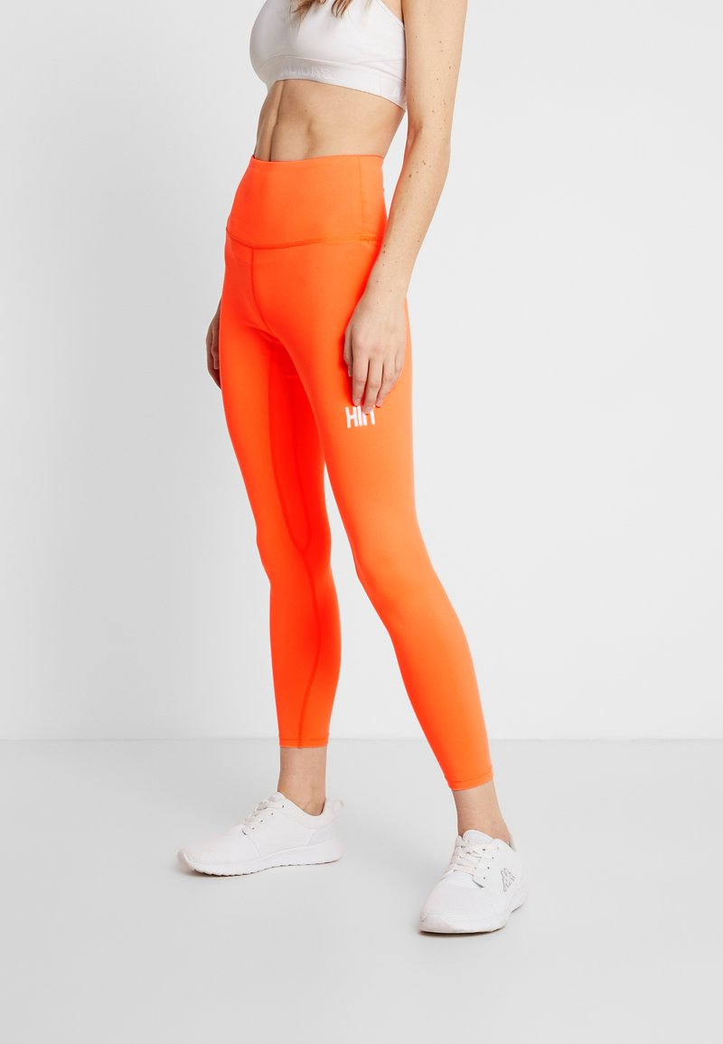 HIIT - BONNIE CORE LEGGING - Collants - orange