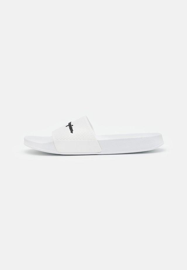 SLIDE DAYTONA - Badslippers - white