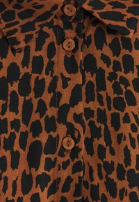 Vila - VIDANIA  - Shirt dress - brown/black - 2