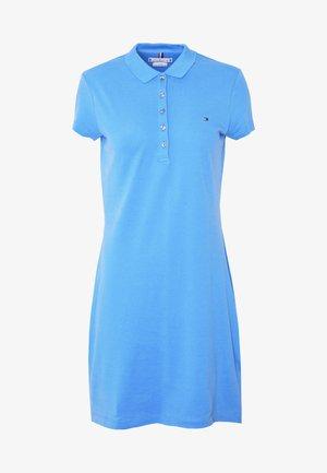 SLIM POLO DRESS - Hverdagskjoler - copenhagen blue