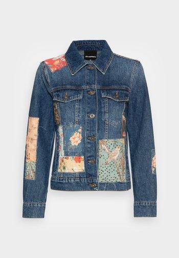 CHAQ JAPO - Džínová bunda - blue