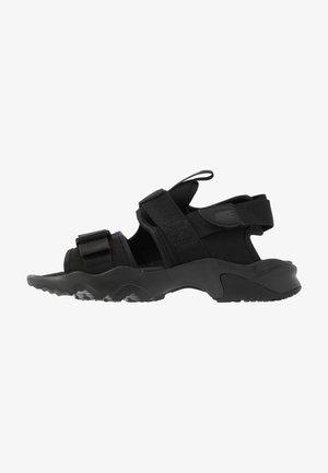 CANYON SLIDE - Sandals - black