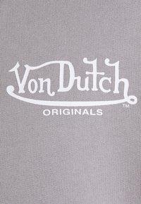 Von Dutch - NICKY - Mikina na zip - silver sconce - 7