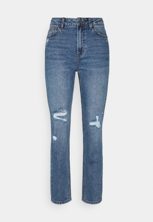 ONLEMILY LIFE - Straight leg jeans - medium blue denim