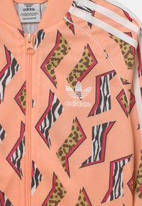 adidas Originals - ANIMAL PRINT SUPERSTAR - Training jacket - glow pink/multicolor/white - 2