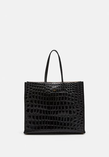 SHOPPING ORIZZONTALE - Tote bag - black
