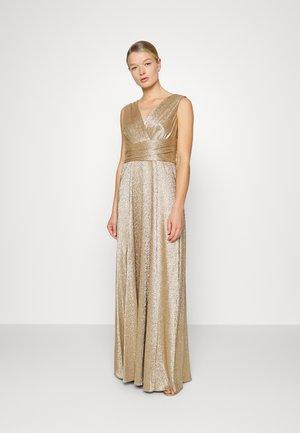 TORRIE EVENING DRESS - Suknia balowa - gilded brass/gold