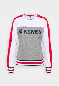 K-SWISS - HERITAGE SPORT WARM-UP - Mikina -  melange/white - 0