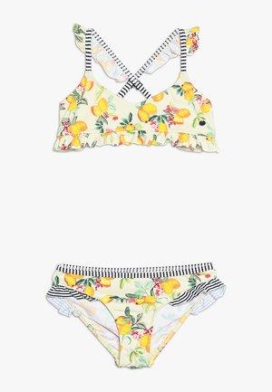 PANAMA BEACH BUSTIER BRIEF - Bikinier - bright yellow