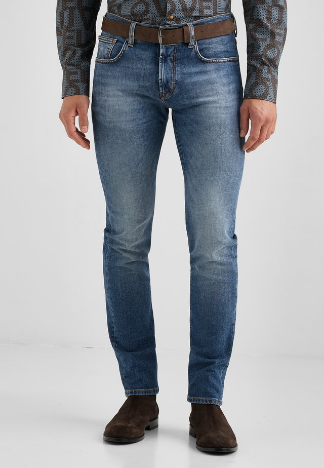 Slim fit jeans - blue fashion