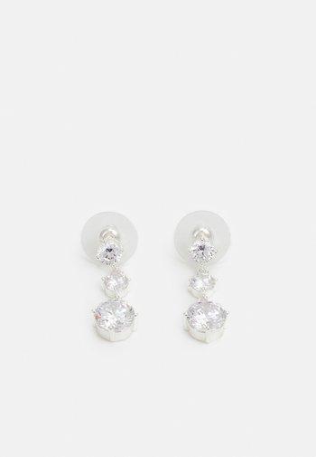 LUIRE SHORT - Earrings - silver-coloured