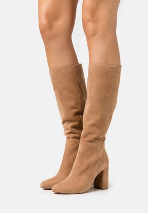 NINNY - High heeled boots - camel