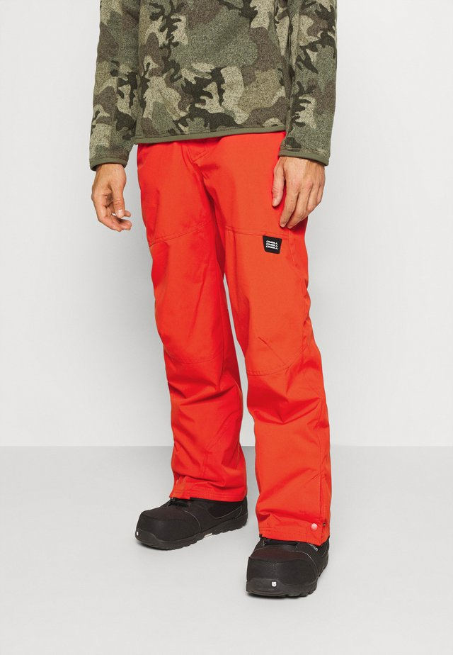 HAMMER SLIM PANTS - Pantalon de ski - fiery red
