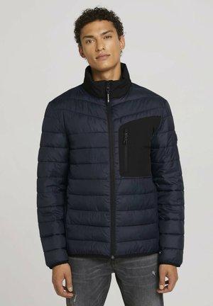 HYBRID MIT STEHKRAGEN - Down jacket - black