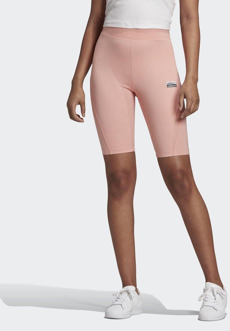 adidas Originals - R.Y.V. SHORT TIGHTS - Shorts - pink