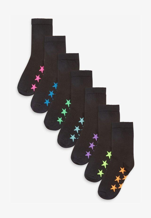 7 PACK RICH STAR - Sokken - black