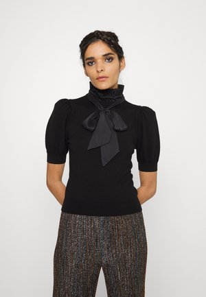 CHASE PUFF RUFFLE - T-shirt print - black