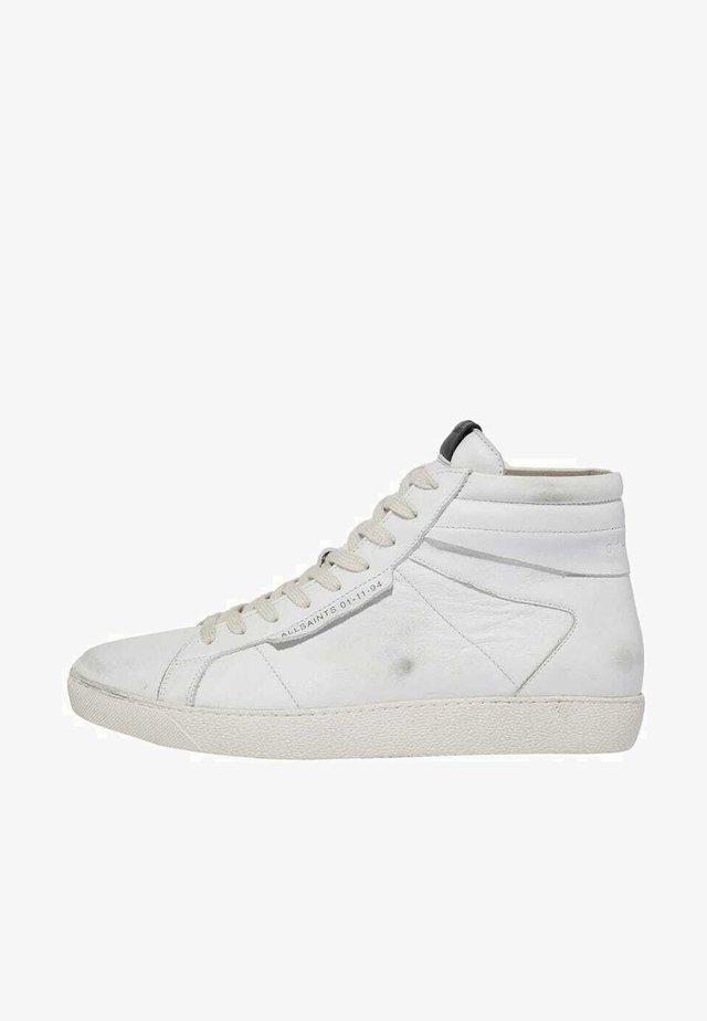 Sneakers hoog - chalk white