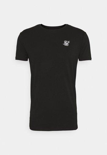 SHORT SLEEVE GYM - T-shirt basic - jet black