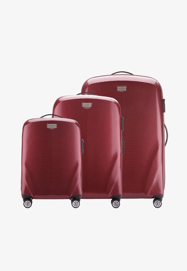 SET - Wheeled suitcase - bordeaux