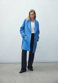Massimo Dutti - Short coat - blue - 3