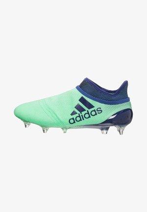 Moulded stud football boots - aergreen / university ink / hi-res green