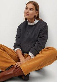 Mango - MIA - Sweatshirt - dunkelgrau meliert - 4