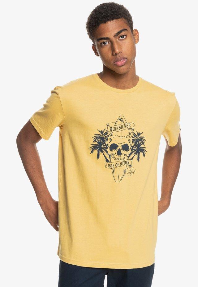 NIGHT SURFER - Print T-shirt - rattan