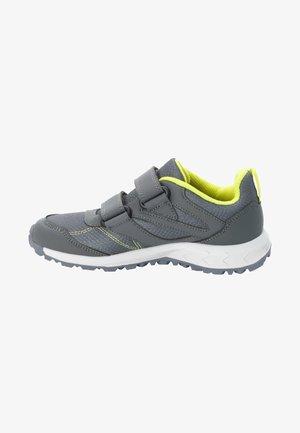 Climbing shoes - grey / light green