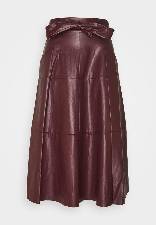 PELOPONESE JUPE - A-line skirt - burgundy