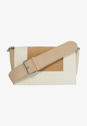 Across body bag - creme comb