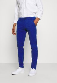 Tommy Jeans - SCANTON PANT - Trousers - blue - 0