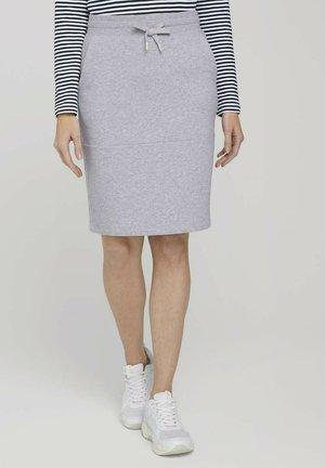 Pencil skirt - comfort grey melange