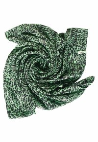 Cecil - MIT ANIMAL PRINT-MIX - Snood - grün - 4