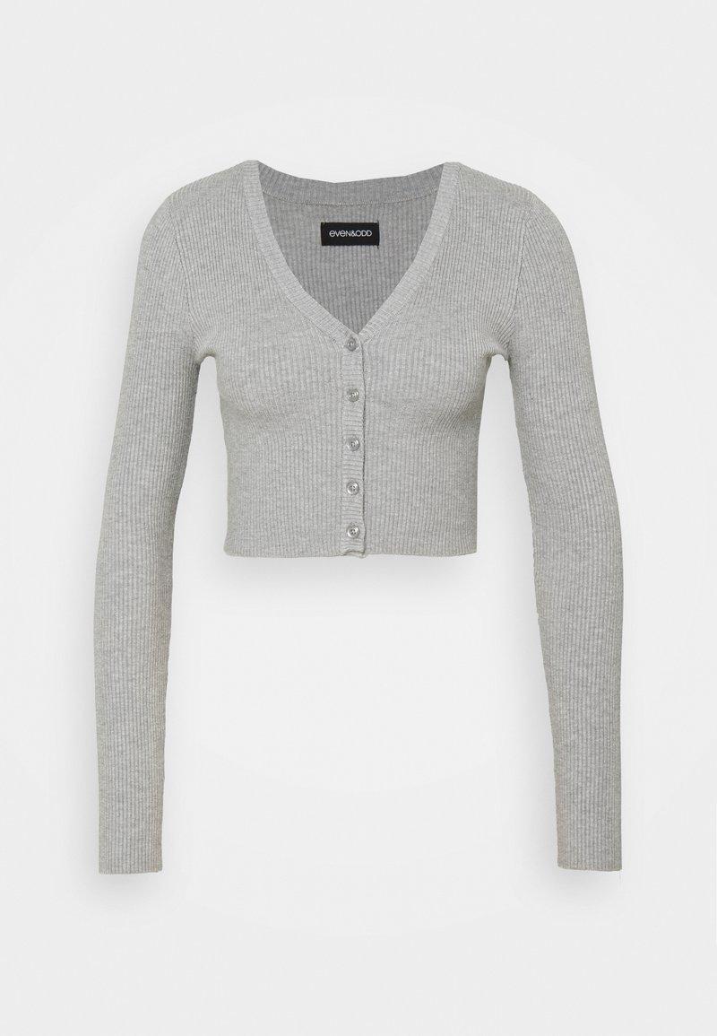 Even&Odd Petite - Cardigan - mottled light grey