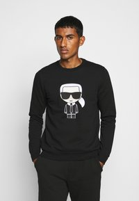 KARL LAGERFELD - CREWNECK - Sweatshirt - black - 0
