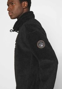Napapijri - TEIDE - Fleece jumper - black - 5