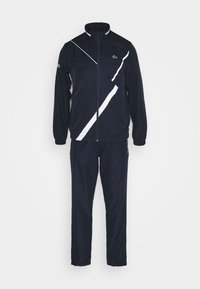 Lacoste Sport - SET TENNIS TRACKSUIT HOODED - Survêtement - navy blue/white - 0