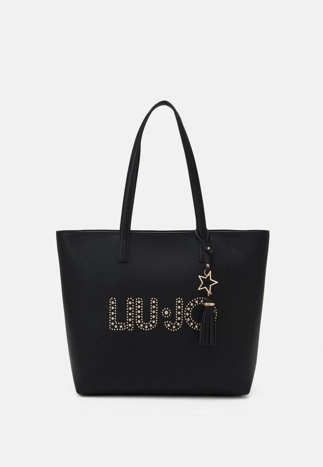 L TOTE - Shopping bag - nero