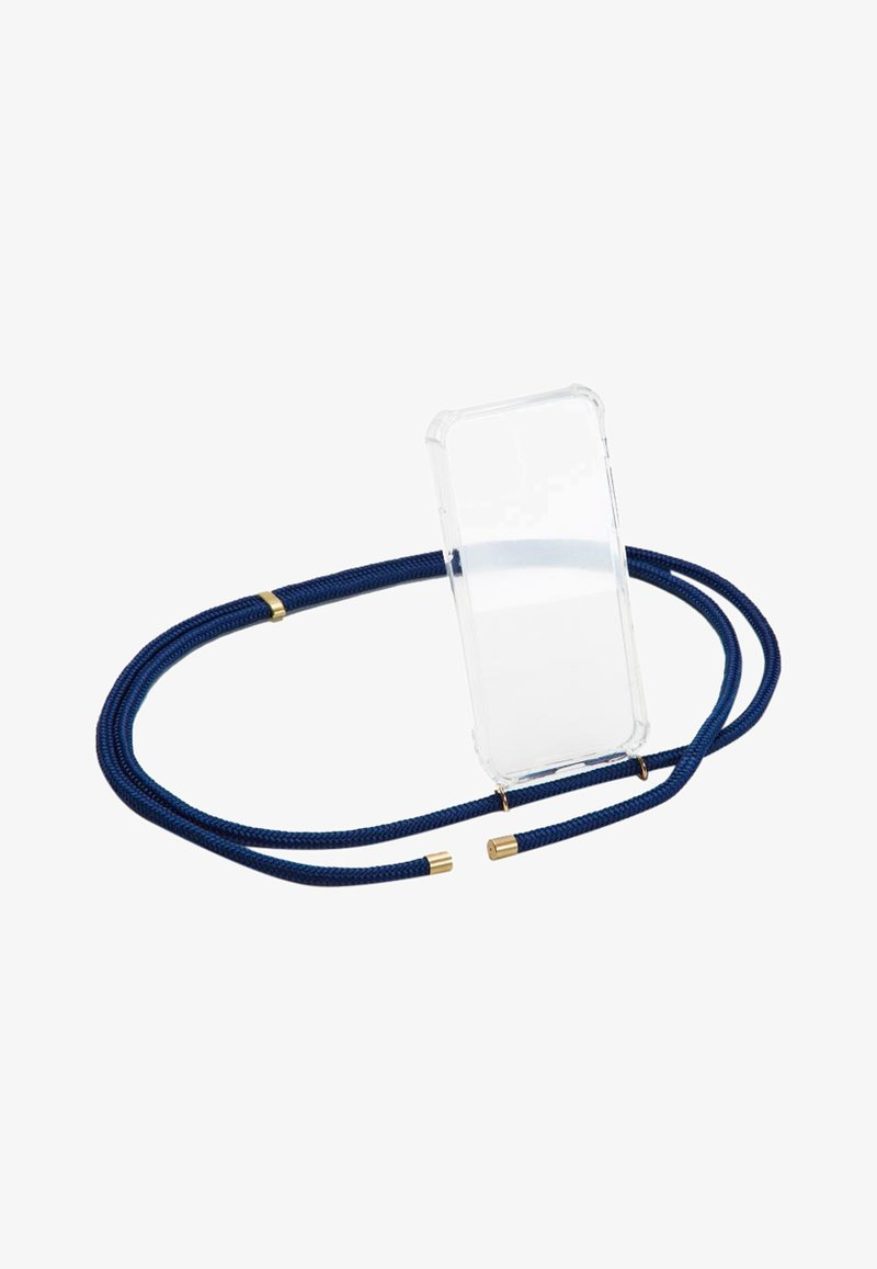Phonelace - BASIC IPHONE X/XS - Phone case - navy/gold