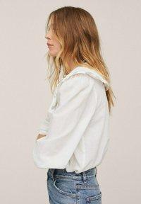 Mango - HONEY - Košile - blanc cassé - 4