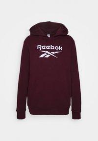 Reebok Classic - VECTOR HOODIE - Hoodie - maroon - 0