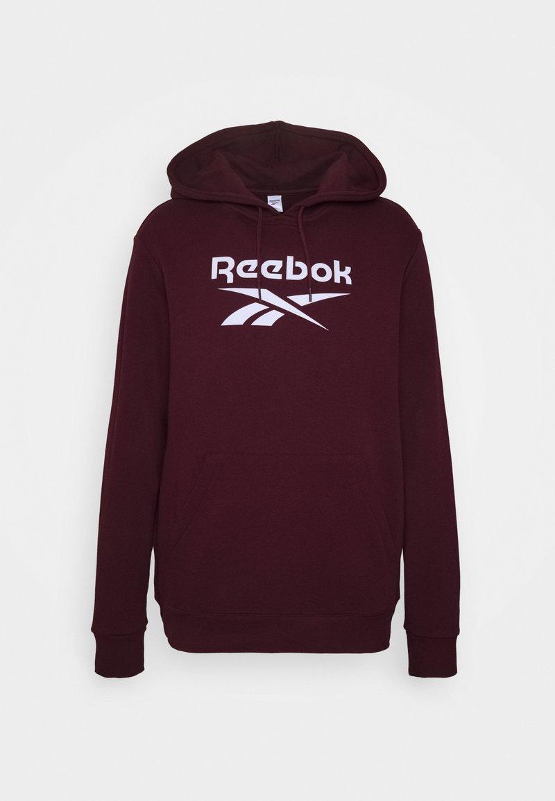 Reebok Classic - VECTOR HOODIE - Hoodie - maroon