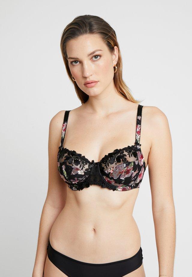 ANNALISE SIDE SUPPORT BRA - Underwired bra - black